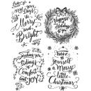 Tim Holtz Cling Stamps 7X8.5 - Doodle Greetings 1