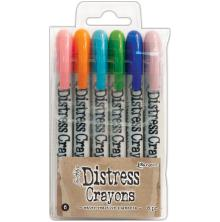 Tim Holtz Distress Crayon Set - Set 6