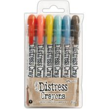 Tim Holtz Distress Crayon Set - Set 7