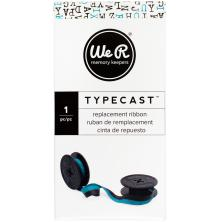 We R Memory Keepers Typecast Typewriter Ribbon - Teal/Black