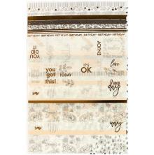 Prima My Prima Planner Washi Stickers 4/Pkg