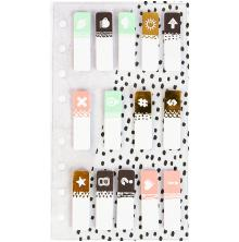Prima My Prima Planner Clear Tabs 14/Pkg - Assorted