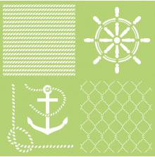 Kaisercraft Designer Template 12X12 - Anchors Aweigh