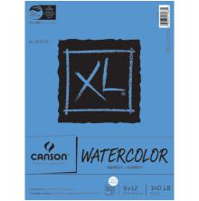 Canson XL Watercolor Paper Pad 9X12 - 30 Sheets