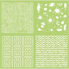 Kaisercraft Designer Template 12X12 - Textures