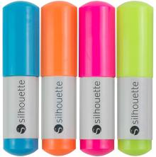 Silhouette Sketch Pens 4/Pkg - Neon