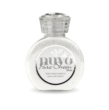 Tonic Studios Nuvo Glitter Collection - Ice White 721N