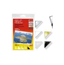 3L Photo Corners Self Adhesive 280/Pkg