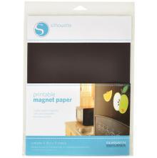 Silhouette Printable Magnet Paper 8.5X11 4/Pkg