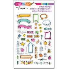 Stampendous Perfectly Clear Stamps 7.25X4.625 - Journal Bullets