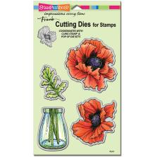 Stampendous Dies - Pretty Poppies