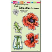 Stampendous Dies - Pretty Poppies