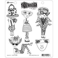 Dylusions Cling Stamps 8.5X7 - Mini Me