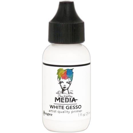 Dina Wakley Media Gesso 29ml Tube - White