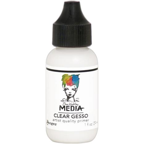 Dina Wakley Media Gesso 29ml - Clear
