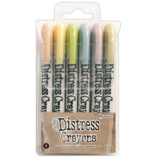 Tim Holtz Distress Crayon Set - 8
