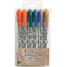 Tim Holtz Distress Crayon Set - 9