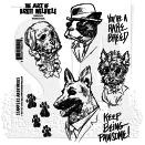Stampers Anonymous Brett Weldele Cling Mount Stamps - Woofpack