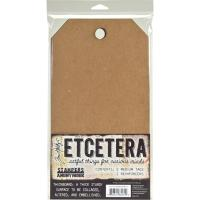 Tim Holtz Etcetera Medium Tag 6.5X12