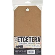 Tim Holtz Etcetera Small Tag 5.5X10