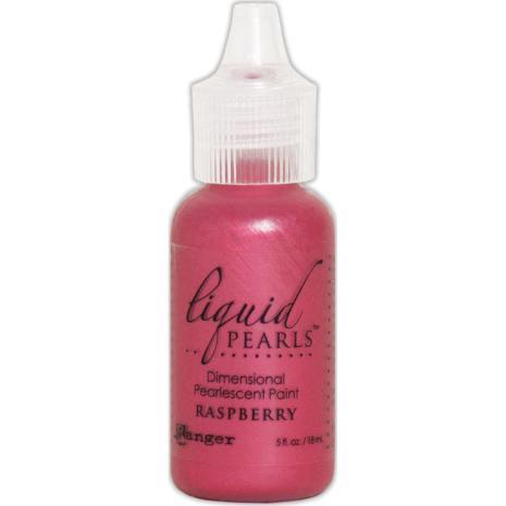 Liquid Pearls Dimensional Pearlescent 18ml - Raspberry