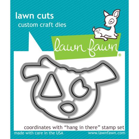 Lawn Fawn Custom Craft Die - Hang In There