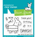 Lawn Fawn Clear Stamps 3X2 - Year Seven