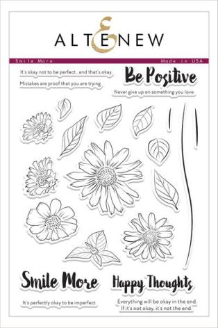 Altenew Clear Stamps 23/Pkg - Smile More