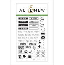 Altenew Clear Stamp 46/Pkg - Basic Headers