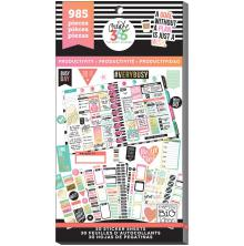 Me & My Big Ideas Happy Planner Sticker Value Pack - Productivity