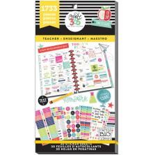 Me & My Big Ideas Happy Planner Sticker Value Pack - BIG Teacher