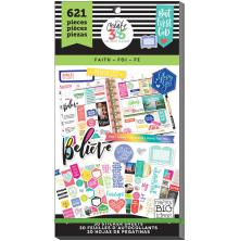 Me & My Big Ideas Happy Planner Sticker Value Pack -CLASSIC Faith