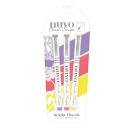 Tonic Studios Nuvo Brush Script Pens 3/Pkg – Bright Florals 111N