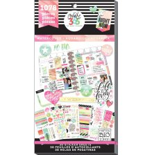 Me & My Big Ideas Happy Planner Sticker Value Pack - Watercolor
