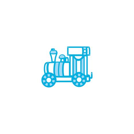Tonic Studios Rococo Kids – Toy Train 1466E