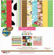 Bella Blvd Collection Kit 12X12 - Barnyard UTGÅENDE