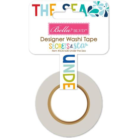 Bella Blvd Washi Tape Secrets Of The Sea Girl  - Under The Sea
