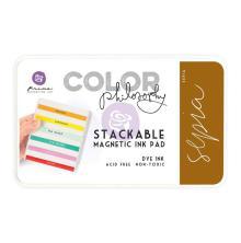 Prima Marketing Color Philosophy Dye Ink Pad - Sepia