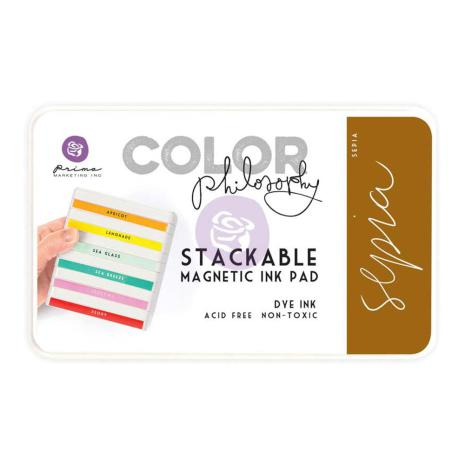 Prima Color Philosophy Dye Ink Pad - Sepia UTGÅENDE