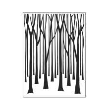 Darice Embossing Folder 4.25X5.75 - Thin Tree Trunks Background