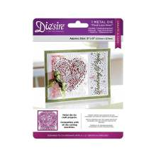 Crafters Companion Diesire 5X5 Create a Card - Floral Lace Heart UTGÅENDE