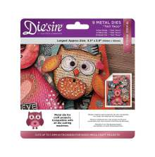 Crafters Companion Diesire Mixed Media Dies - Twit Twoo UTGÅENDE