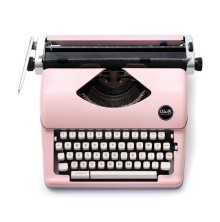 We R Memory Keepers Typecast Typewriter - Pink