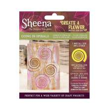 Sheena Douglass Create a Flower Metal Die - Going in Spirals UTGÅENDE