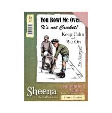 Sheena Douglass Remember When A6 Rubber Stamp - Street Cricket UTGÅENDE