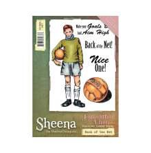 Sheena Douglass Remember When A6 Rubber Stamp - Back of the Net UTGÅENDE