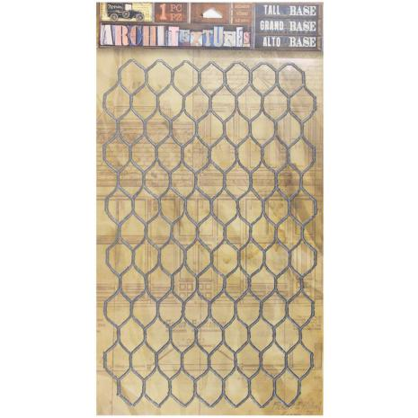 7 Gypsies Architextures Adhesive Tall Base 9X6 - Chicken Wire