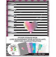 Me & My Big Ideas Create 365 Sticker Storage Book - Rainbow