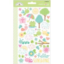 Doodlebug Spring Things Stickers - Mini Icons UTGÅENDE