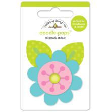 Doodlebug Doodle-Pops 3D Stickers - Spring Flowers UTGÅENDE